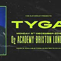Tyga at Brixton Academy on Monday 9th December 2019