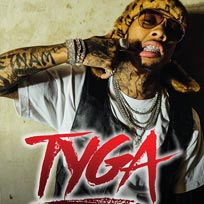 Tyga at SJM Concerts on Thursday 1st March 2018