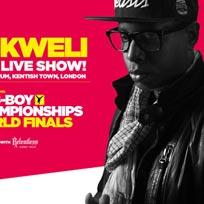 UK B-Boy Championship World Finals w/ Talib Kweli at The Forum on Sunday 9th April 2017