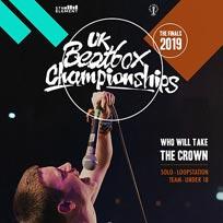 UK Beatbox Championships at The Garage on Sunday 24th November 2019