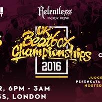 UK Beatbox Championships at Scala on Saturday 19th November 2016
