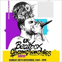 2017 UK Beatbox Championships at The Garage on Sunday 26th November 2017