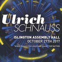 Ulrich Schnauss at Islington Assembly Hall on Friday 27th October 2017