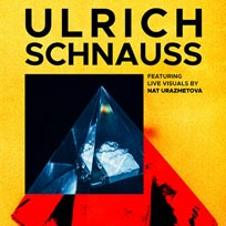 Ulrich Schnauss  at EartH on Friday 17th May 2019
