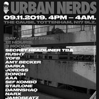 Urban Nerds at The Cause on Saturday 9th November 2019