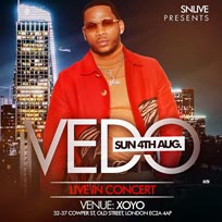 VEDO at XOYO on Sunday 4th August 2019