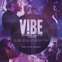 V!BE at Jazz Cafe on Tuesday 13th September 2016