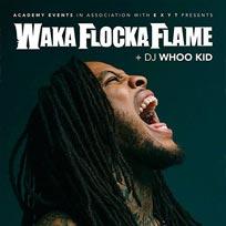 Waka Flocka Flame at Islington Academy on Wednesday 8th February 2017