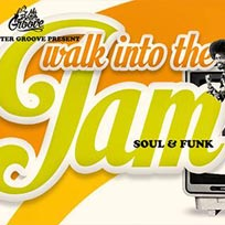 Walk into the Jam at Walkabout Temple on Tuesday 26th July 2016