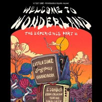 Welcome to Wonderland at The Roundhouse on Sunday 4th March 2018