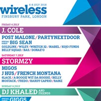 Wireless Festival 2018 Saturday at Finsbury Park on Saturday 7th July 2018