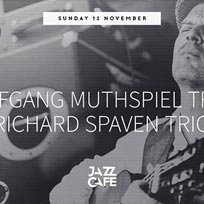Wolfgang Muthspiel Trio + Richard Spaven Trio at Jazz Cafe on Sunday 12th November 2017