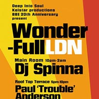 Wonder-Full LDN at Prince of Wales on Sunday 10th July 2016