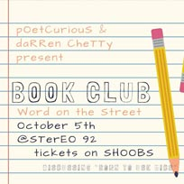 Word on the Street Book Club at Stereo92 on Wednesday 5th October 2016