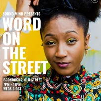 Word on the Street at Boondocks on Wednesday 3rd October 2018