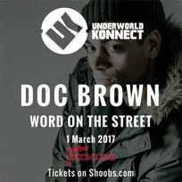 Word on the Street at Boondocks on Wednesday 1st March 2017