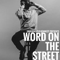Word on the Street at Boondocks on Wednesday 3rd May 2017
