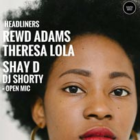 Word On The Street w/ Theresa Lola & Rewd Adams at Boondocks on Thursday 12th October 2017
