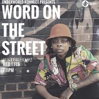 Word on the Street at Stereo92 on Wednesday 1st February 2017
