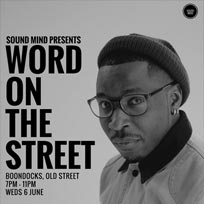 Word On The Street at Boondocks on Wednesday 6th June 2018