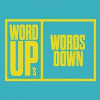 Words Down at TONE on Monday 23rd January 2017