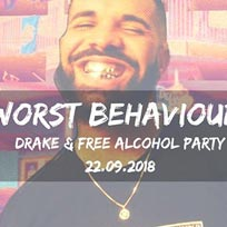 Worst Behaviour at The Macbeth on Saturday 22nd September 2018