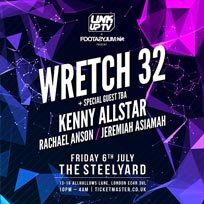 Wretch 32 at The Steelyard on Friday 6th July 2018