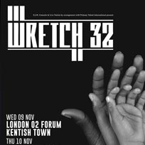 Wretch 32 at The Forum on Wednesday 9th November 2016