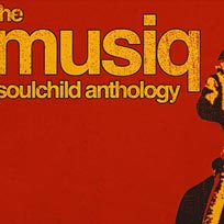 The Musiq Soulchild Anthology at Jazz Cafe on Thursday 31st May 2018