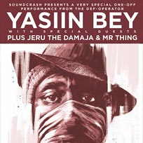 Yasiin Bey at The Troxy on Thursday 8th March 2018
