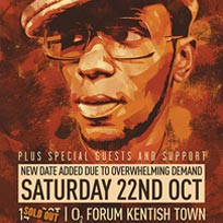 Yasiin Bey + Hypnotic Brass Ensemble at The Forum on Saturday 22nd October 2016