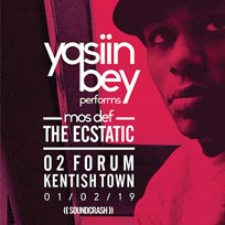 Yasiin Bey  at The Forum on Friday 1st February 2019