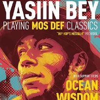 Yasiin Bey at The Forum on Sunday 14th April 2019