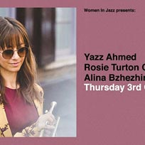 Yazz Ahmed at Jazz Cafe on Thursday 3rd October 2019
