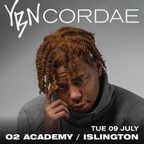 YBN Cordae at Islington Academy on Tuesday 9th July 2019