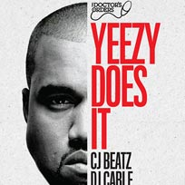 Yeezy Does It at Trapeze on Friday 6th April 2018