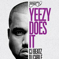 Yeezy Does It at Trapeze on Friday 1st June 2018