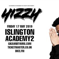 Yizzy at Islington Academy on Friday 17th May 2019