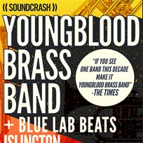 Youngblood Brass Band at Islington Assembly Hall on Sunday 8th October 2017
