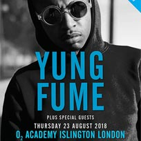 Yung Fume at Islington Academy on Thursday 23rd August 2018