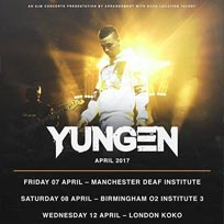 Yungen at KOKO on Wednesday 12th April 2017