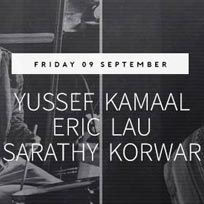 Yussef Kamaal Trio at Jazz Cafe on Friday 9th September 2016
