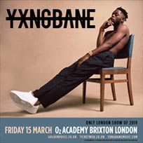 Yxng Bane at Brixton Academy on Friday 15th March 2019