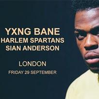 Yxng Bane at Electric Brixton on Friday 29th September 2017