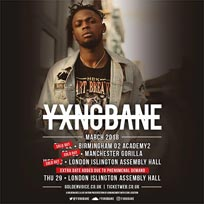 Yxng Bane at Islington Assembly Hall on Wednesday 28th March 2018