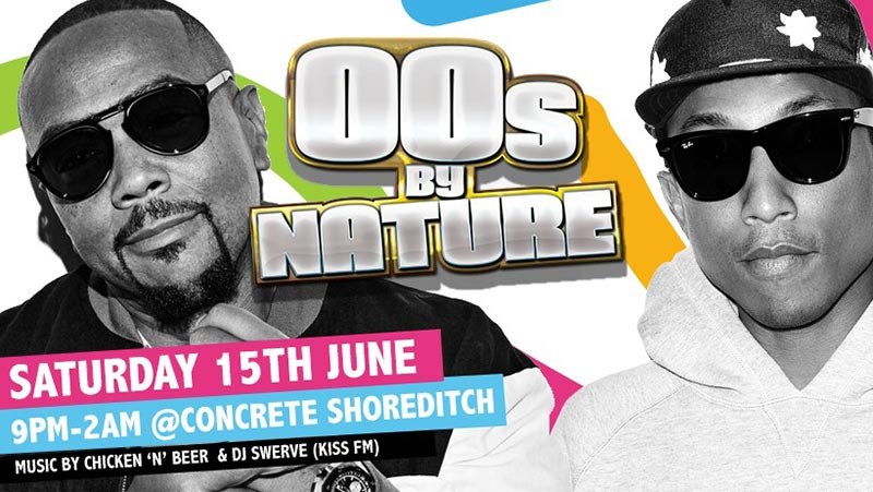 00's By Nature at Concrete on Sat 15th June 2019 Flyer