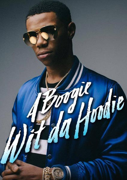 A Boogie Wit Da Hoodie at Finsbury Park on Sunday 17th December 2017 Flyer