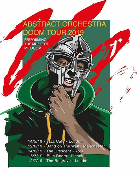 Abstract Orchestra at Jazz Cafe on Tue 14th May 2019 Flyer