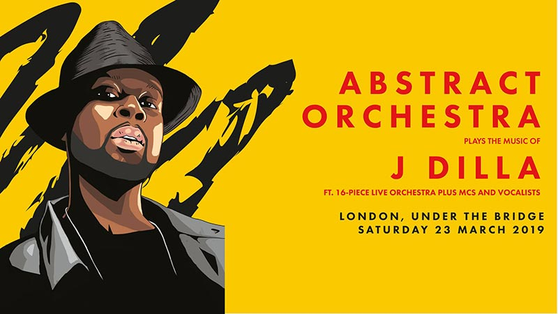 Abstract Orchestra at Under the Bridge on Sat 23rd March 2019 Flyer