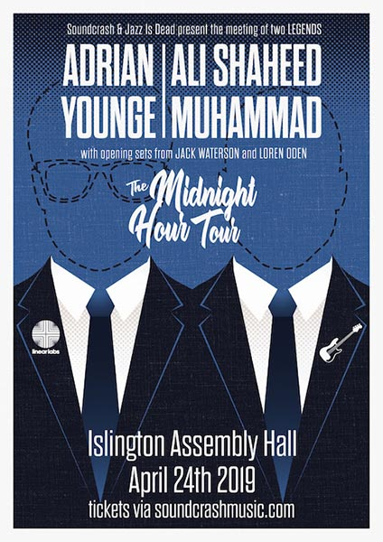 at Islington Assembly Hall on Wednesday 24th April 2019 Flyer